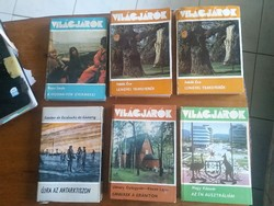 Világjárók könyv sorozat