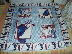 Vintage ,nagyméretű selyemkendő