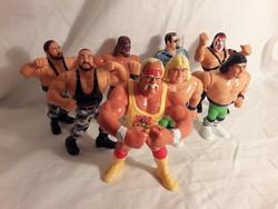 HASBRO 1991 titan sports Wrestling pankrátor figurák gyűjtőknek