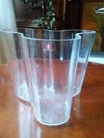 Alvar Aalto uveg vaza elado