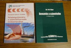 Számvitellel kapcsolatos könyv és Feladatgyűjtemény  - 2 db -