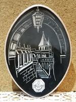 Retro kerámia Budapest 1971 tálka.