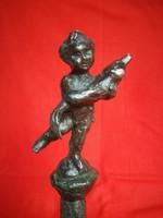 Borsos  Miklós  bronz szobor