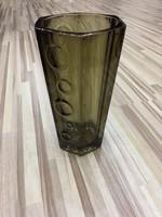 Art deco váza, üvegváza