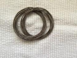Ezüst színű karkötő garnitúra