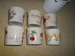 Landzeit évszak csészék