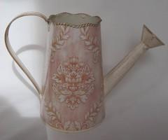 Vintage fém kanna virág locsolókanna öntözőkanna