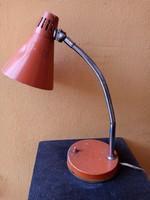 Retro asztali lámpa - narancs -