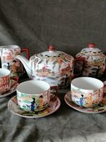 Viktória porcelán teáskészlet