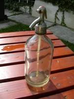 Szikviz szóda palack üveg literes