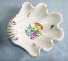 Herendi kagyló alakú asztalközép