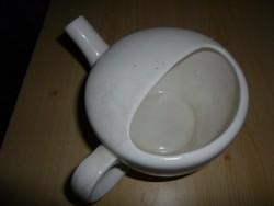 KGY gránit betegitató csőrös pohár, kb. 1940