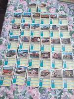 32 db régi kamionos kártya
