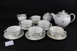 1ft Hollóháza porcelán 6 személyes teás készlet /GP4003/ Hollóházi