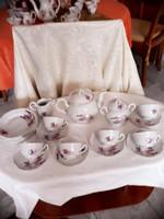 Zsolnay   teás   és  süteményes   készlet    31000  ft
