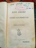 Kiss József összes versei 1900.második kiadás