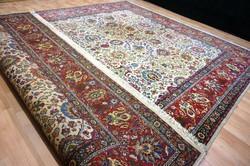 Exkluzív Tabriz  kézzel szőtt  hatalmas szőnyeg  390x300cm