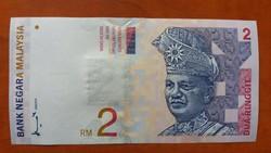 Malajzia 2 Ringit UNC 1996