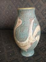 Gorka Lívia pávás, madaras váza