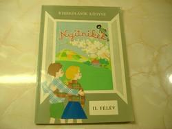 Kisiskolások könyve Nyitnikék II. félév, 1980
