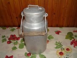 Retró alumínium tejes kanna, 2 literes