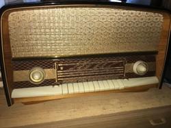 Nagyméretű Orion Pacsirta AR 612 rádió régi antik retro rádió