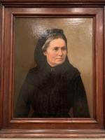 Barabás Miklós (1810-18989): Hölgyportré, 1867
