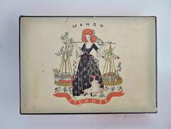 Manon Stühmer bonbonos doboz  -  Lukáts Kató terve
