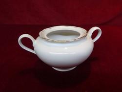 R bavaria német porcelán cukortartó, tető nélk cm. ül, magassága 7