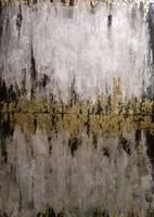 Arany fények című absztrakt festmény