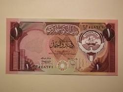 Kuwait 1 Dinar UNC 1980/91