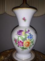 Herendi porcelán lámpa eladó