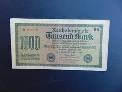 1000 márka 1922 Németország 02