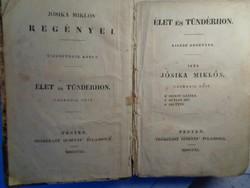 Báró Jósika Miklós három kisregénye 1840.