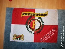 Feyenoord Rotterdam szurkoló zászló