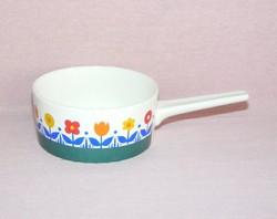 Villeroy & Boch porcelán nyeles tálka, kiöntő
