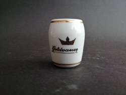 Goldvasser Aquincum porcelán pohárka - EP