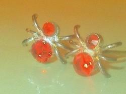 Rubint kristály köves Méhecske Fülbevaló