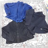 3 db népi paraszti blúz ing felöltő egyben - népviseleti házilag készült ruhadarabok