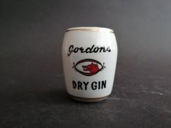 Gordon Dry Gin Aquincum porcelán pohárka - EP