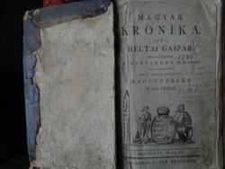 Heltai Gáspár Magyar krónika Nagy-Győr, 1789.