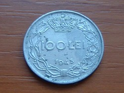 ROMÁNIA 100 LEI 1943 MIHÁLY KIRÁLY #