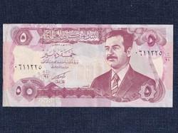 Irak Saddam Hussein 5 Dínár bankjegy 1992 / id 16646/