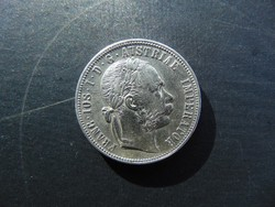 1 florin 1877 Szép ezüst