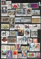 USA pecs bélyegek Mi 972-1592 46 db 15 EUR 1968-82 (f 410)
