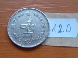 HONG KONG 1 DOLLÁR 1979 120.