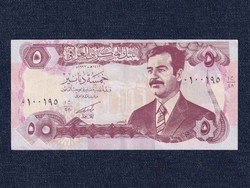 Irak Saddam Hussein 5 Dínár bankjegy 1992 / id 16645/