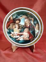 Hollóházi porcelán Botticelli