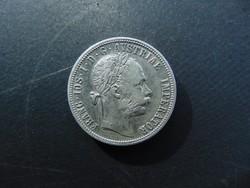 1 florin 1891 Szép ezüst