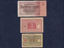 3 db német márka / id 5568/